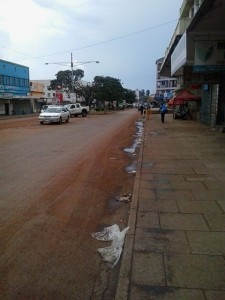 Mbale on a Sunday afternoon
