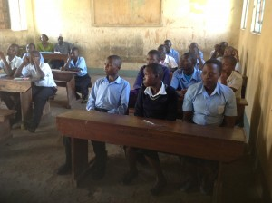 Busamaga Secondary School 2014 Students