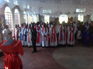 Sunday of the Tanzania Clergy Conference 2014