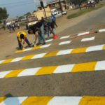 Uganda Speed bumps