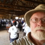 Ron at Masindi school